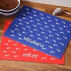 Personalized Pet Food Place Mat - Kitty Kitchen