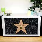 Personalized Hollywood Star Table Runner