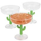 Cactus Margarita Glasses