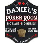 Feeling Lucky? Poker Room Custom Sign