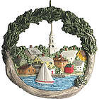 Portsmouth, NH Sailboat Ornament