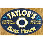 Boat House Custom Sign