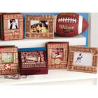 Personalized Wood Sports Photo Album
