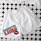 Sealed with a Kiss Personalized Boxer Shorts