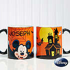 Personalized Mickey Mouse Halloween Coffee Mug