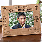 Personalized Blessed Sacrament First Communion Picture Frame
