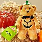 Personalized Costumed Halloween Plush Bear