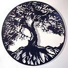 The Tree of Life Steel Wall Sculpture