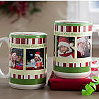 Personalized Christmas Photo Coffee Mug