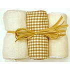 Organic Burp Cloth Set
