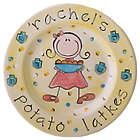 Personalized Girl Hanukkah Plate