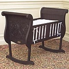 Chelsea Cradle in Espresso Finish