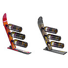 Recycled Ski Wine Rack