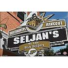 Purdue Boilermakers Personalized Pub Sign Canvas