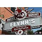 Texas A&M Aggies Personalized Pub Sign Canvas