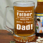 Special Dad Glass Beer Mug
