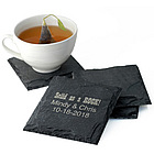 Personalized Square Granite Coasters