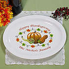 Thanksgiving Personalized Serving Platter