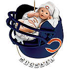 Personalized Chicago Bears Baby's First Christmas Ornament