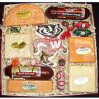 Bucky Badger Cheese and Sausage Gift Box