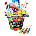 Happy Birthday Nostaglic Candy Bucket