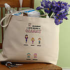 Reasons Why Personalized Family Character Tote Bag