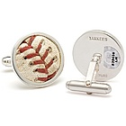 New York Yankees MLB Authenticated Baseball Stitches Cuff Links