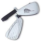 Silver Golf Club Luggage Tag