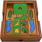Golf Course Wooden Brain Teaser Puzzle
