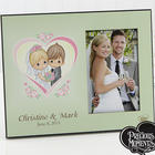 Precious Moments Personalized Heart Wedding Picture Frame