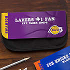 Personalized NBA Basketball Pencil Case
