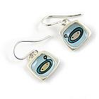 Star Chaser Sterling Silver Earrings