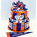 NY Mets Baseball Candy Bar Cake