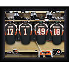 Personalized NHL Philadelphia Flyers Locker Room Print