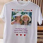 Loving Her Custom Photo T-Shirt