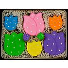 Tip Toe Through the Tulips Sugar Cookie Tin