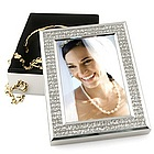 Personalized Glitter Photo Frame Jewelry Box