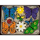 Butterflies and Daisies Sugar Cookie Gift Tin