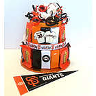 San Francisco Giants Baseball Candy Bar Cake