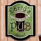 Personalized Old Irish Pub Wall Sign