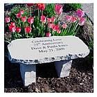 Small Engraved Memorial Bench