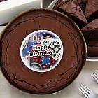 Birthday Casino Brownie Cake