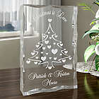 Personalized Christmas Tree Plaque