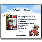 Baby's 1st Christmas Poetry Keepsake