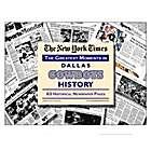 Dallas Cowboys History Newspaper - Complete Coverage