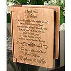 Personalized Thank You on My Special Day Wooden Photo Album