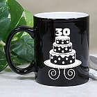 Personalized Birthday Cake Two Tone Mug