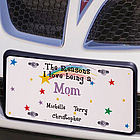 Reasons I Love License Plate