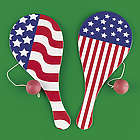 Stars and Stripes Paddleball Games