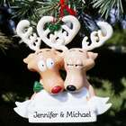 Personalized Reindeer Couple Ornament